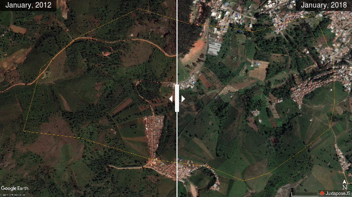 Land use change in the Ambikapuram Valley